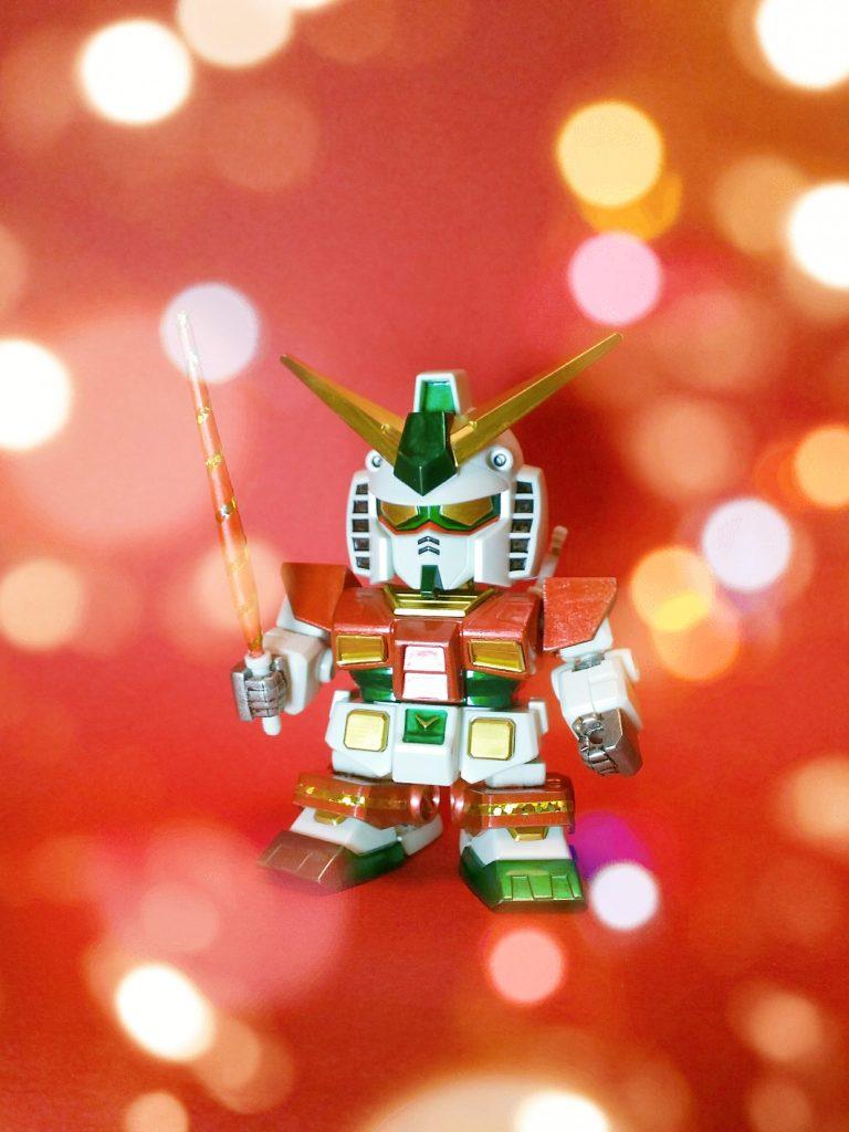 BB戦士329 RX-78-2ガンダム クリスマスカラー