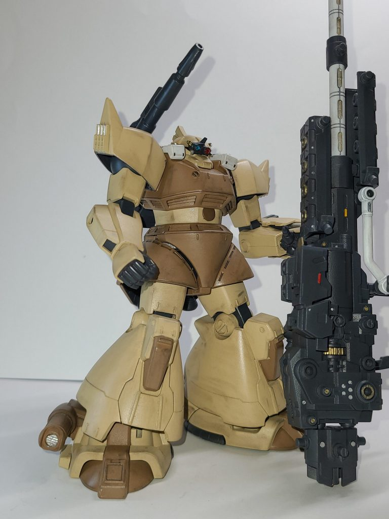 ゲルググトローペン 超長距離狙撃仕様