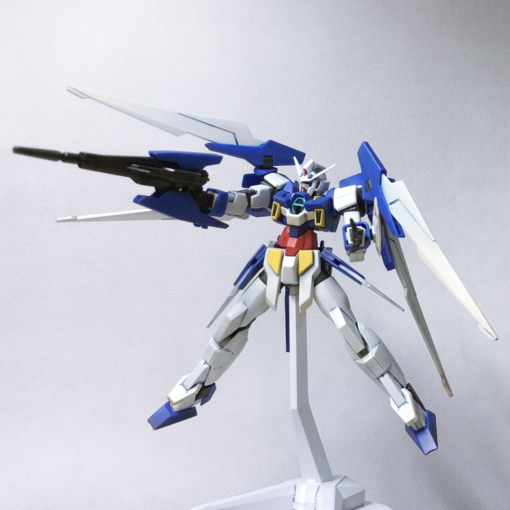 ガンダムAGE-2 ノーマル 成形色仕上げ