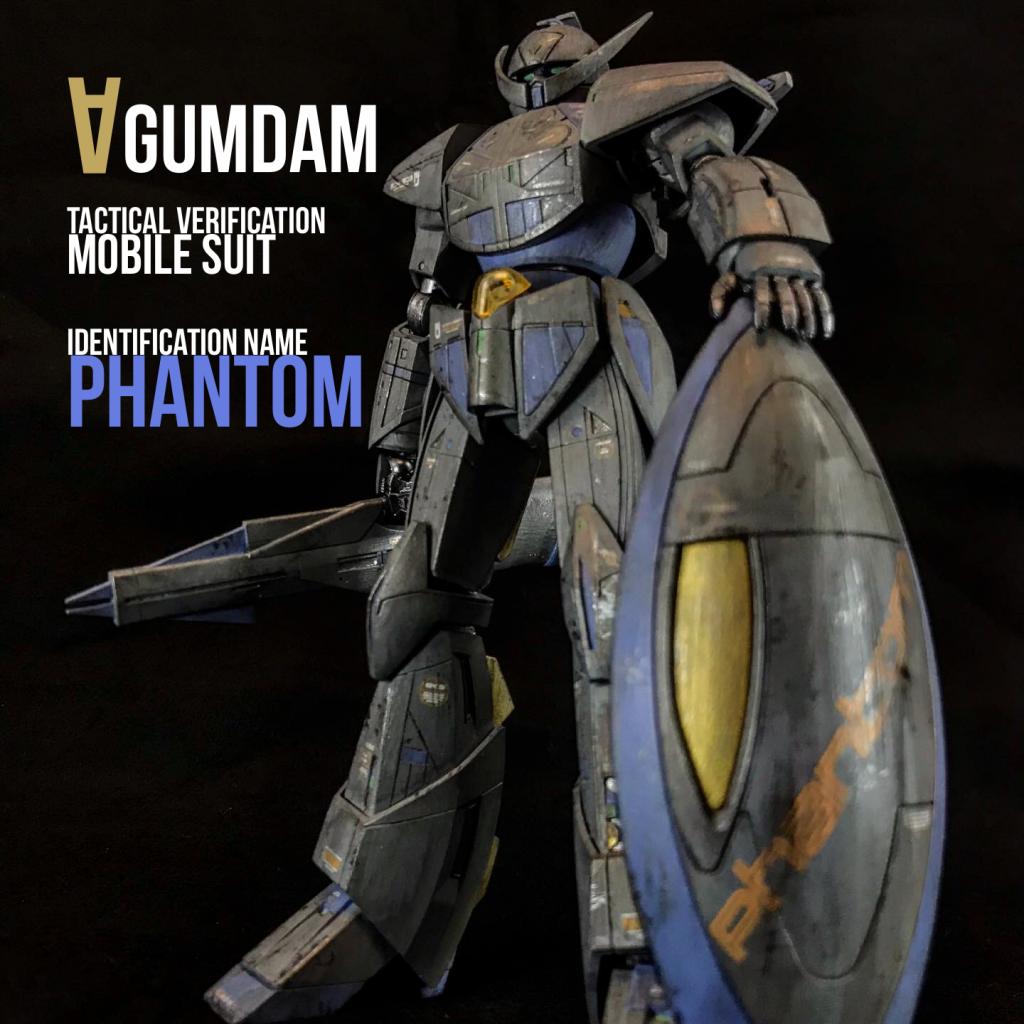 ∀ガンダム 戦術検証機 識別呼称-ファントム-
