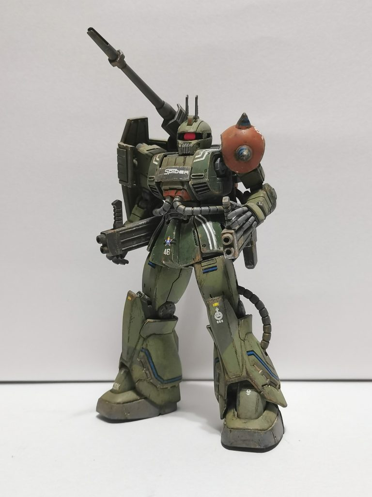 MS-06K Zaku cannon 隊長機