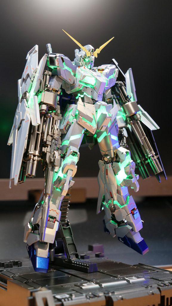 MGEXユニコーンガンダムVer.KA-チタニウムフィニッシュ