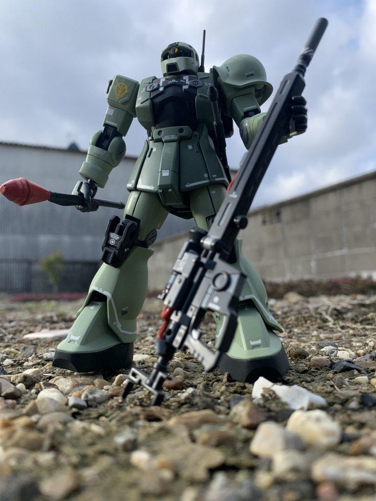 MS-05L ザクⅠスナイパータイプ