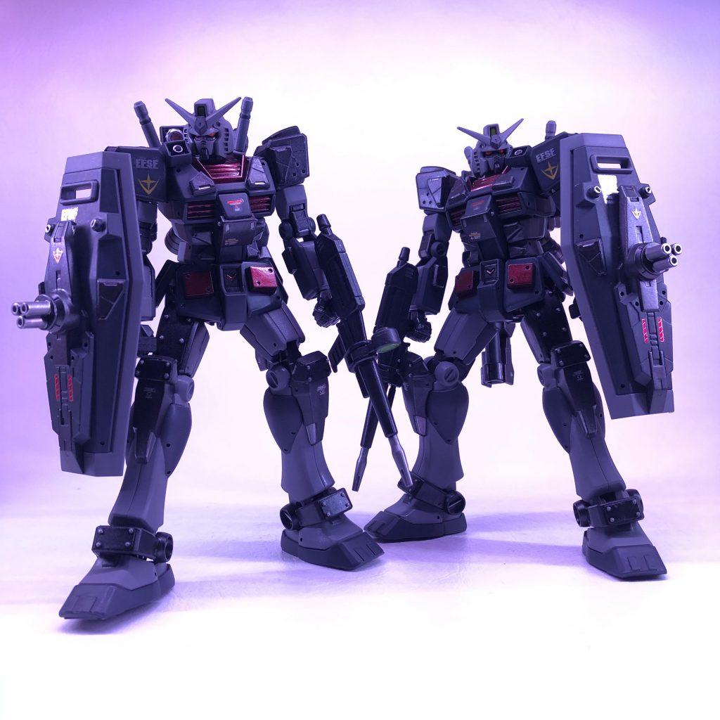 『RX-78-3 SEMI ARMOR CUSTOM type A & type B』