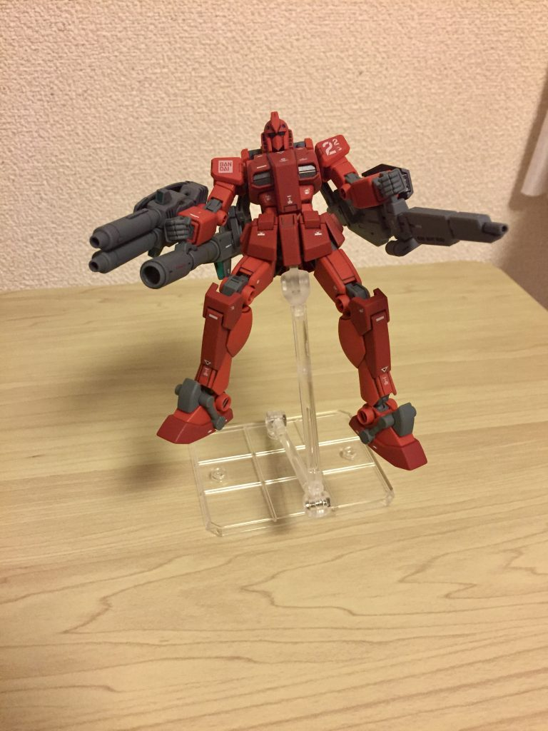 Mini Mod:TC-22-B Full Armor Gundam Red Fighter