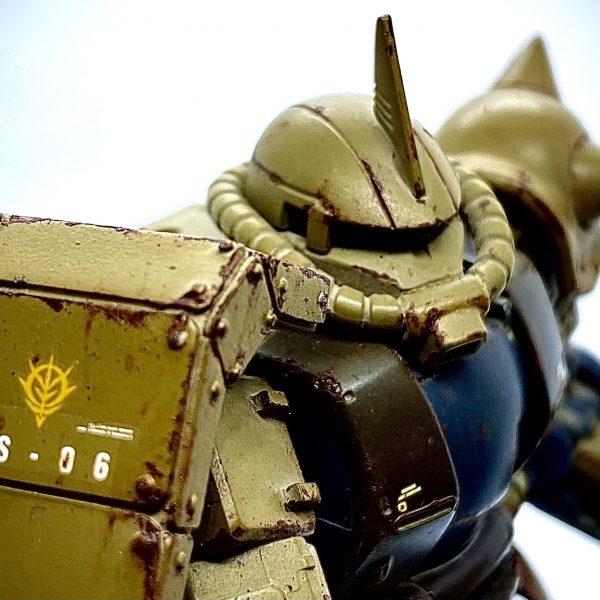 MS-06C ザクII 砂漠戦仕様