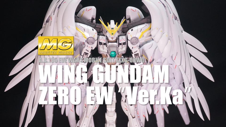 MG XXXG-00YSW WING GUNDAM SNOW WHITE PRELUDE