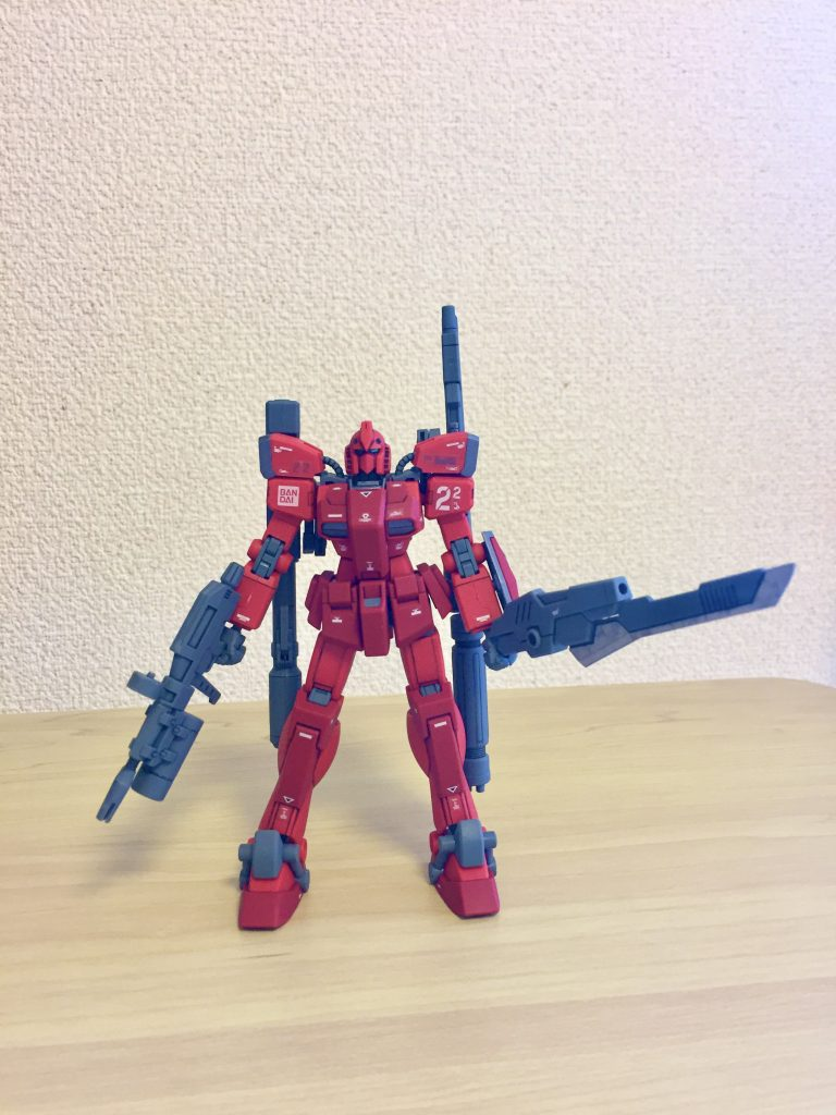 Intro Build: TC-22-B Gundam Red Fighter