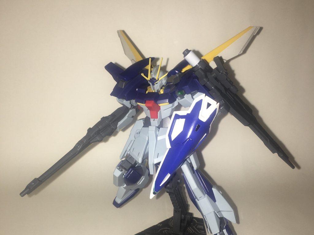 雷の翼「ガンダムライトニングフェザー」
