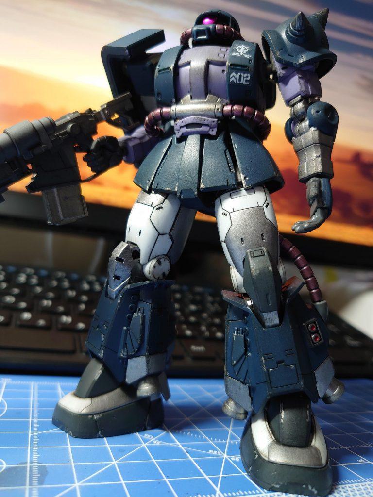 HG 高機動型ザクII(マッシュ専用機)ORIGIN版