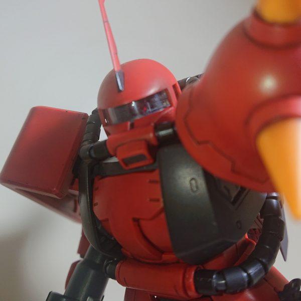 【真紅の稲妻】MS-06R-2 ZAKUⅡ