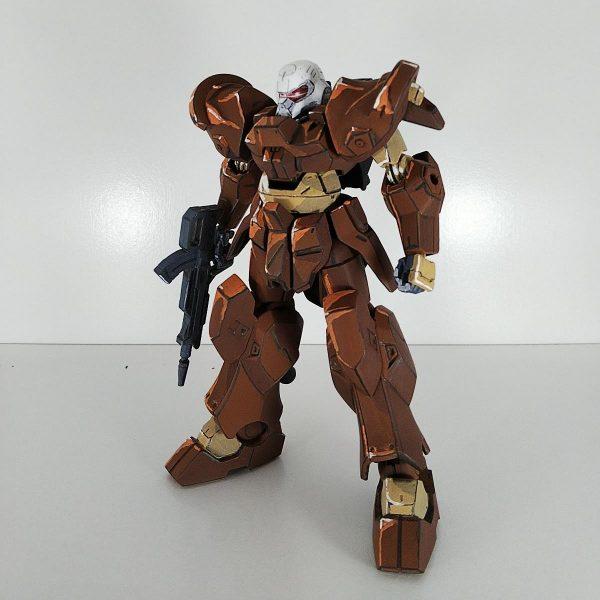 【イラスト風模型】HGジャハナム量産型 グリモア風カラーでアニメ塗り