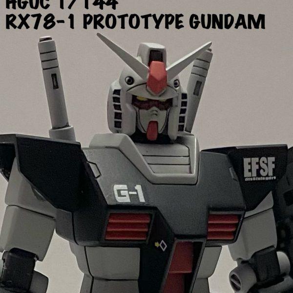 HGUC RX78-1 プロトタイプガンダム