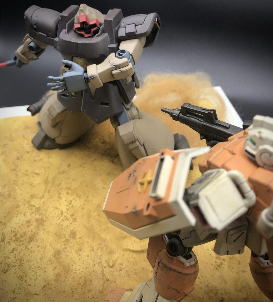 熱砂の死闘
