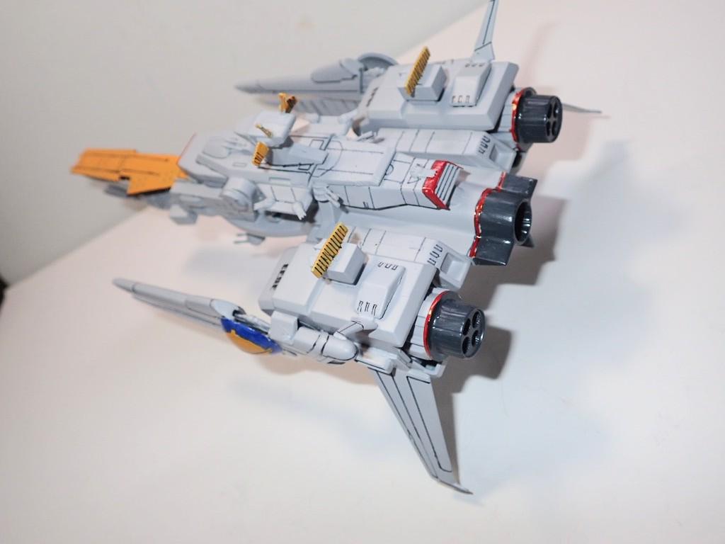 ペガサス級戦艦トラケーネン|S.donahueさんのガンプラ作品|GUNSTA ...