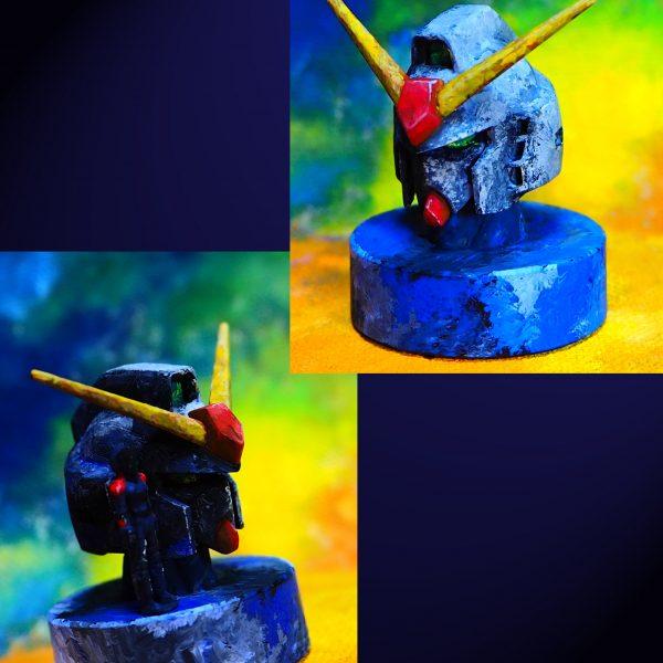 一番くじ ガンダムMk-Ⅱヘッド エゥーゴ&ティターンズカラー塗装