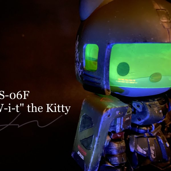 "MS-06F / ザクⅡ  ""W-i-t"" the Kitty"