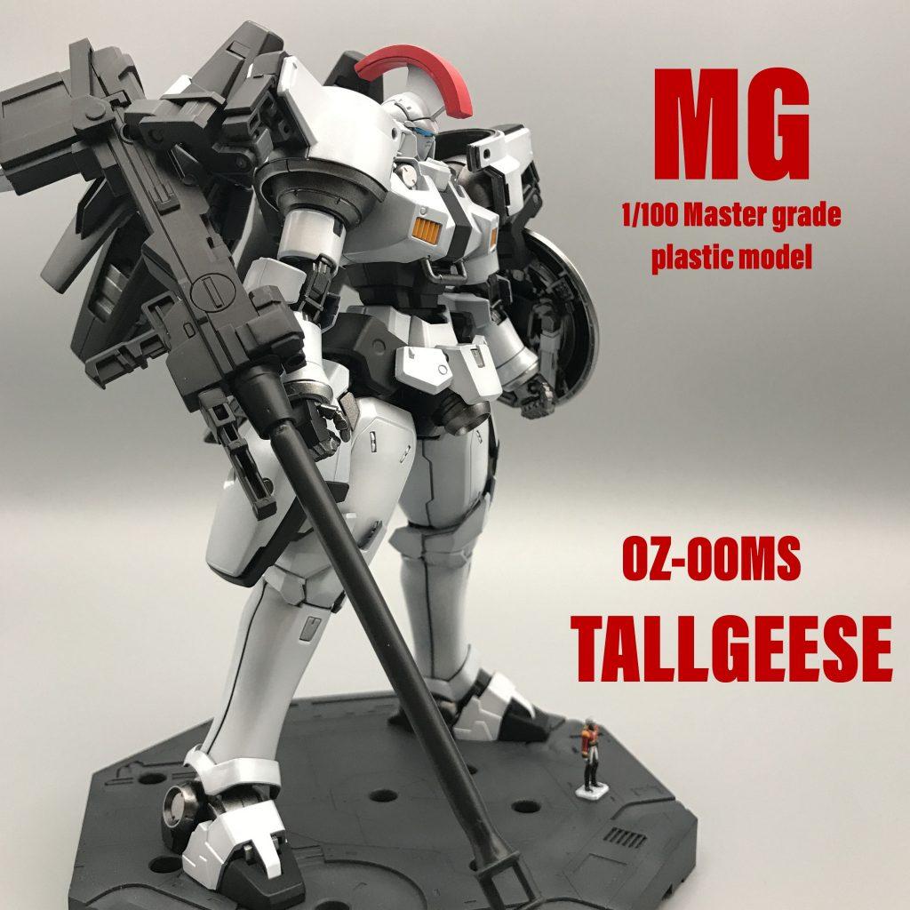 MG トールギス アニメ版カラー