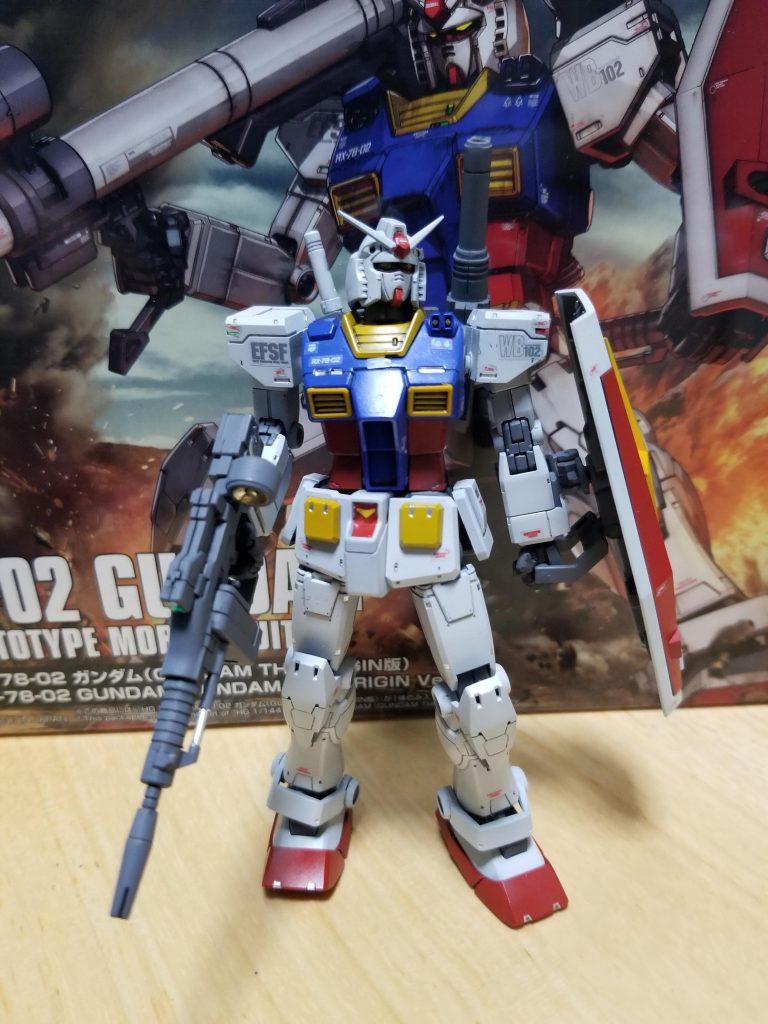 HG1/144RX78-02ガンダムTHE ORIGIN