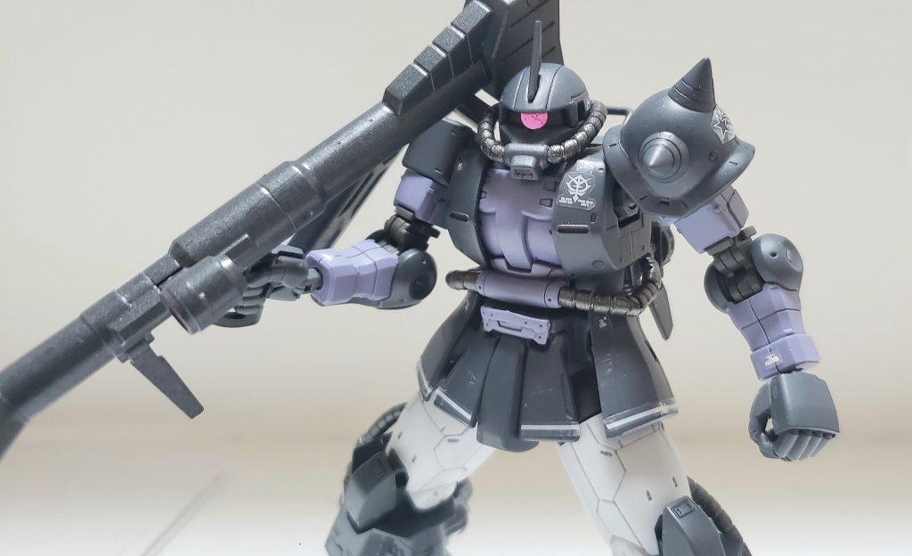 高機動型ザクⅡ(黒い三連星仕様)