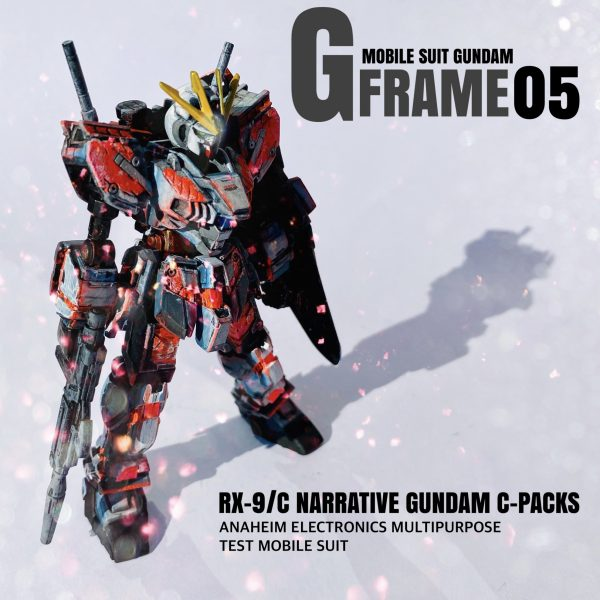 G-FRAME NARRATIVE GUNDAM C-PACK 2次元リペイント