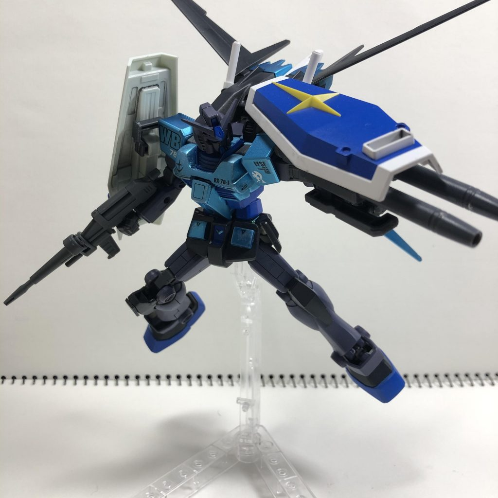 RX78-1 AS 高機動型ガンダム