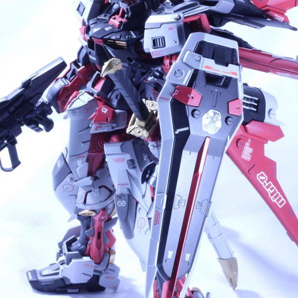 MG アストレイレッドフレーム /w フライトユニット(2020ラスト作)