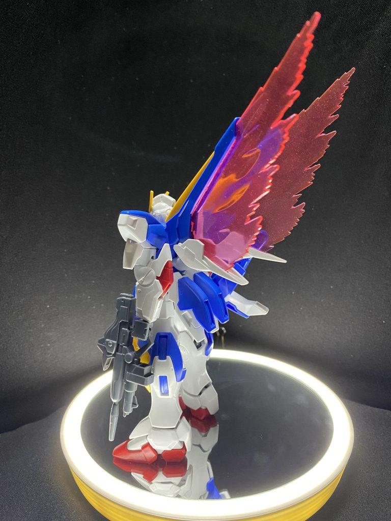 光の翼エフェクト(自作)