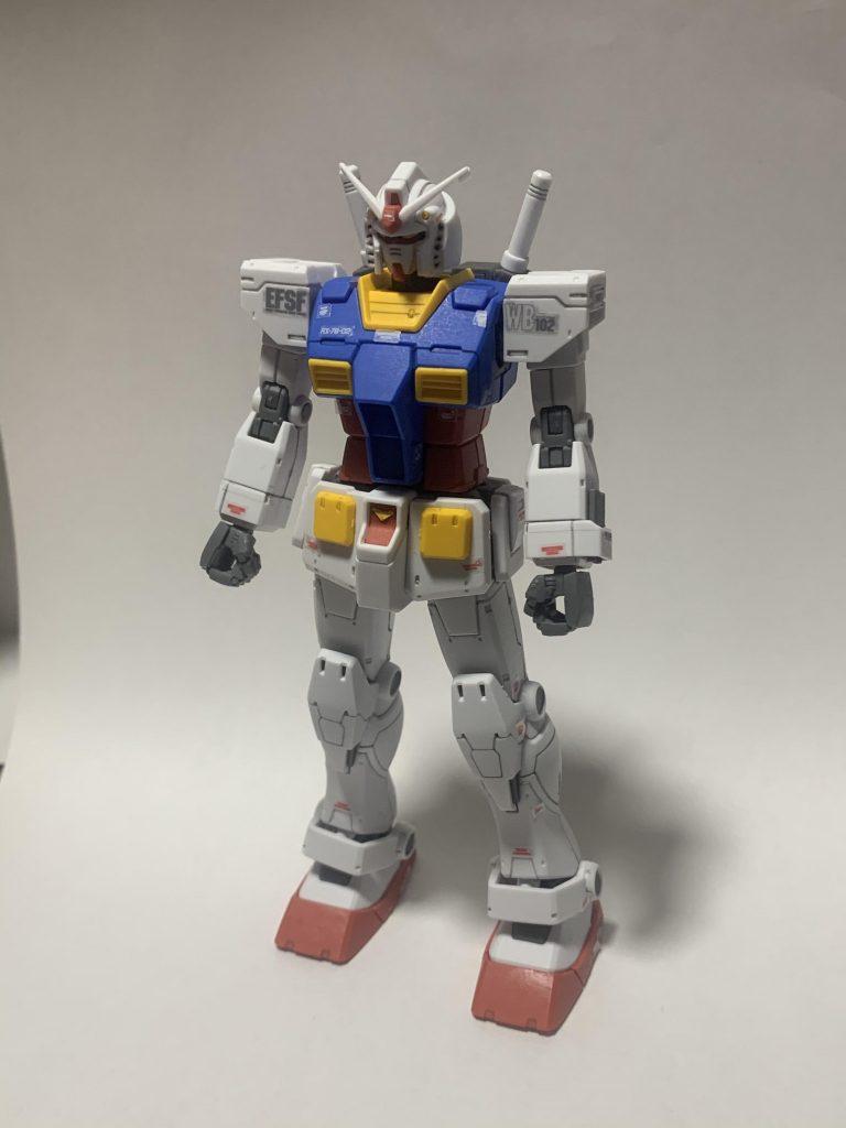 THE ORIGIN版RX-78-2ガンダム(2体目)