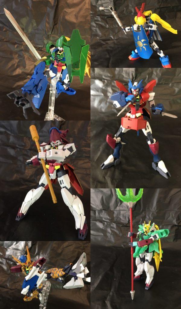 マナガンダムシリーズ(聖剣伝説3)