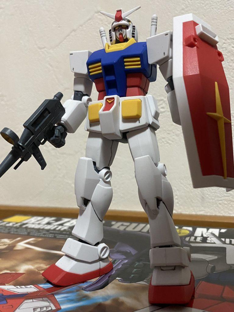 HGUC NO.021 白い悪魔 RX-78-2 ガンダム