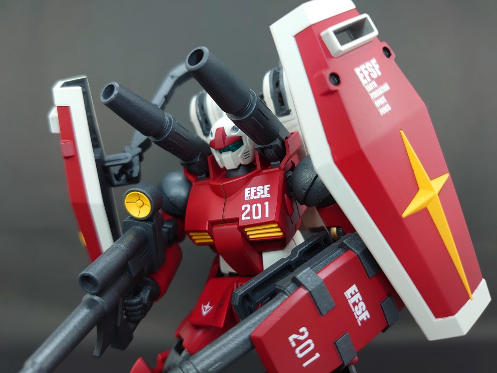 ガンキャノン 第634MS隊201番機