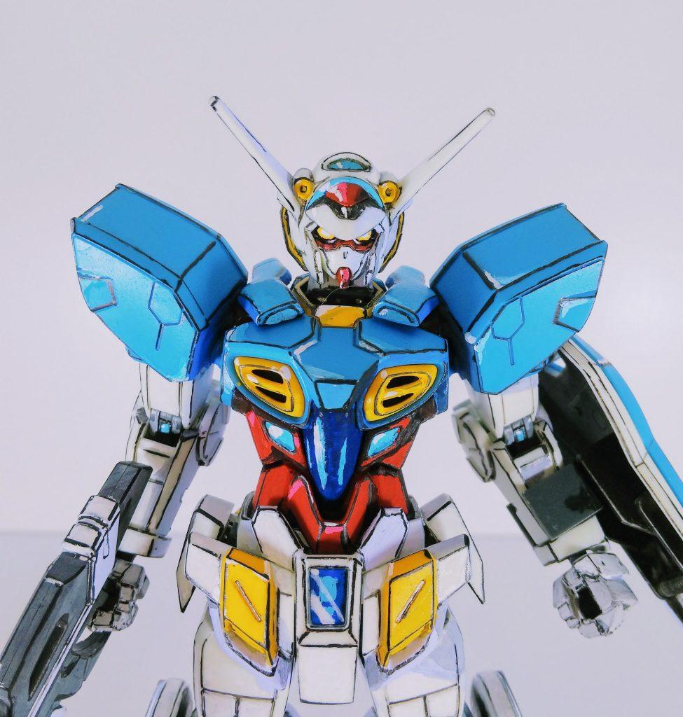 【イラスト風模型】HG Gセルフ