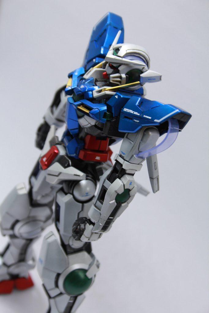 MGエクシア(チタニウムフィニッシュ風)