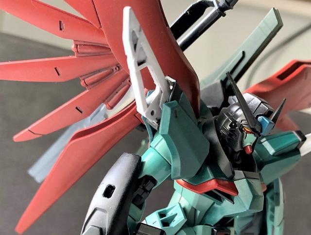 デビルガンダム Devil Gundam (デスティニーガンダム  デビルマンカラー Destiny Gundam Devilman Color))
