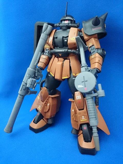 MGギャビーハザード専用 高機動型ザクⅡ
