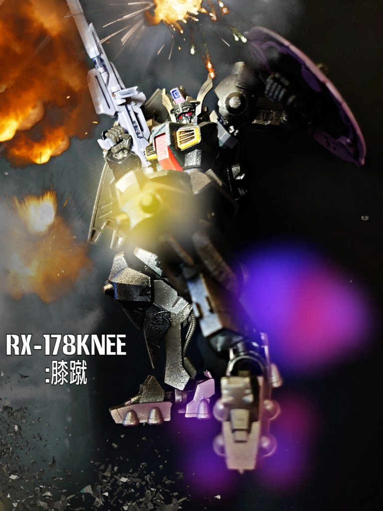 RX-178Knee:膝蹴