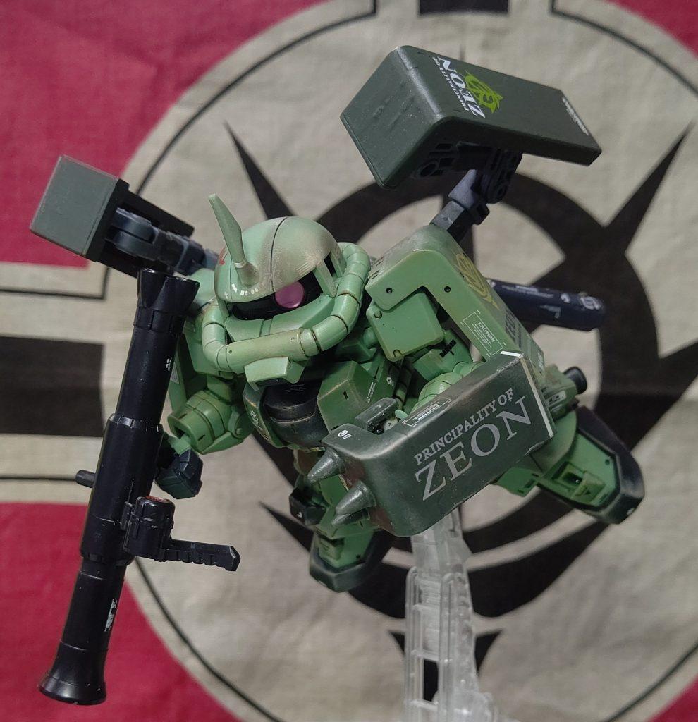 クロスシルエット  ザク9機目