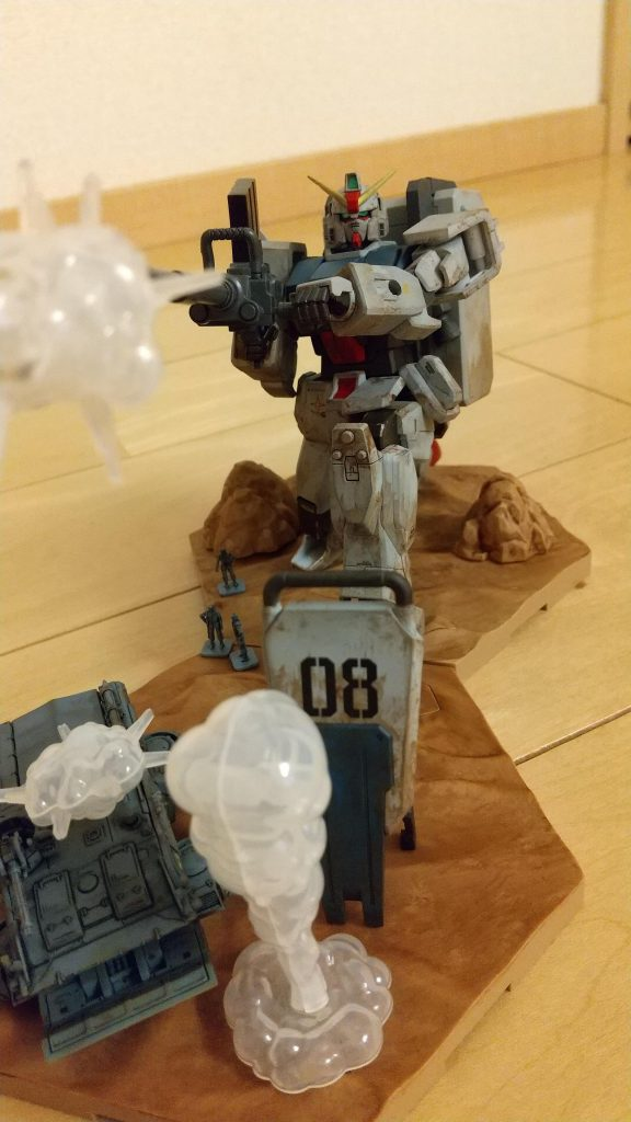 08小隊 陸戦型ガンダム
