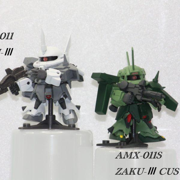 AMX-011「ザクⅢ」&AMX-011S「ザクⅢカスタム」