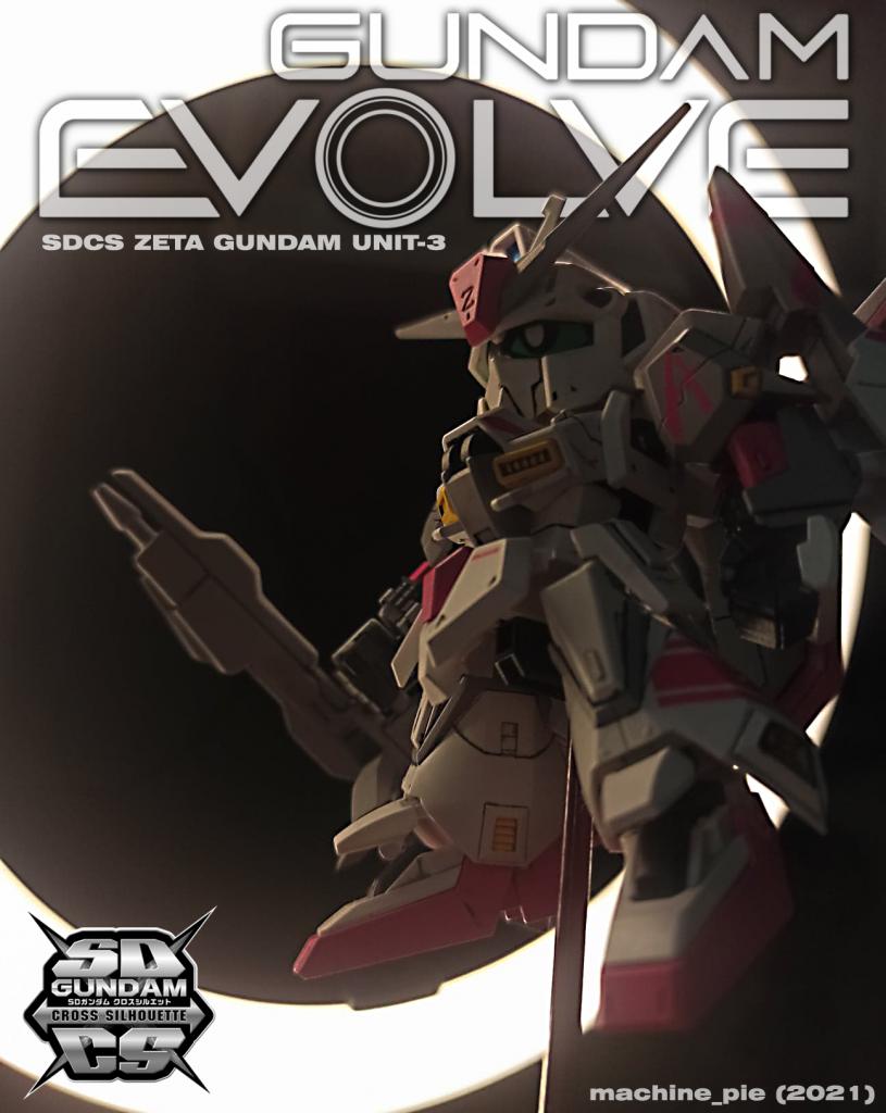 Zeta Gundam Unit 3 (White Unicorn custom)