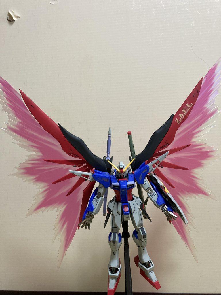 ディスティニーガンダム光の翼!