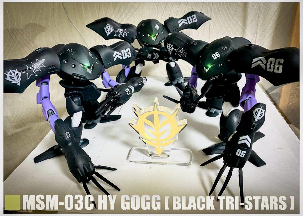 HG ハイゴッグ 黒い三連星
