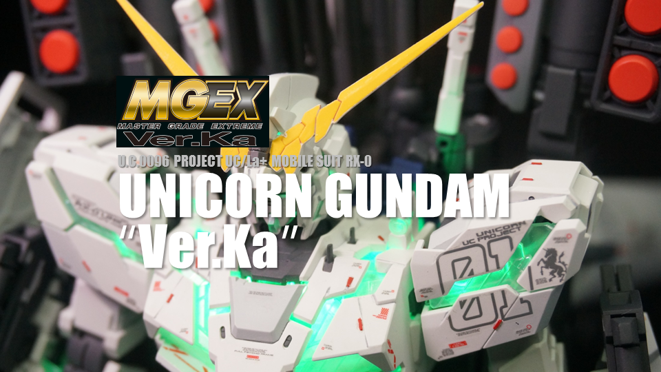 MGEX 1/100 RX-0 UNICORN GUNDAM Ver.Ka DESTROY MODE & FULL ARMOR