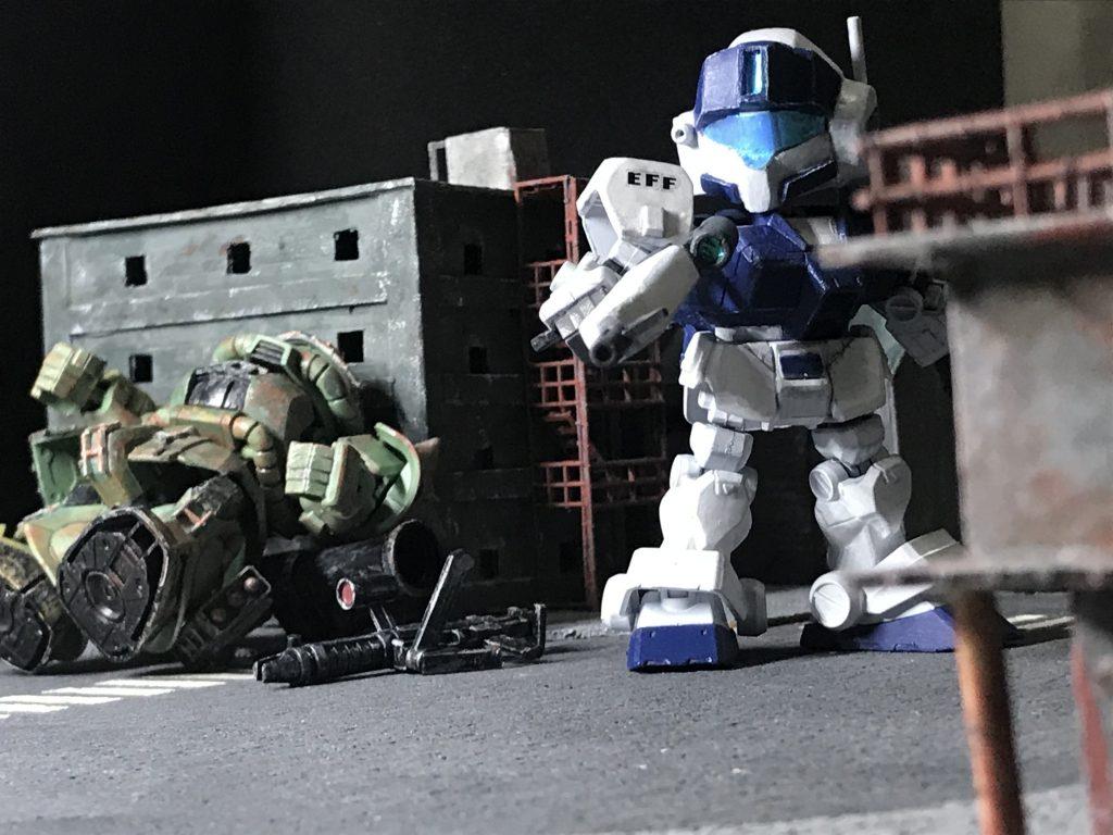 SD ジムスナイパーⅡ ホワイトディンゴ隊仕様