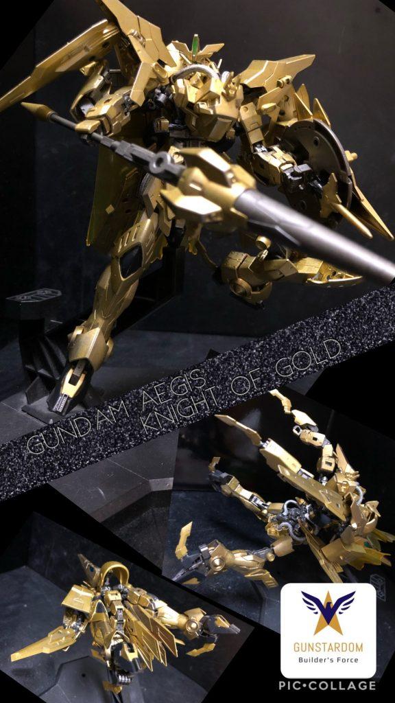 ガンダム イージスナイト オブ ゴールド