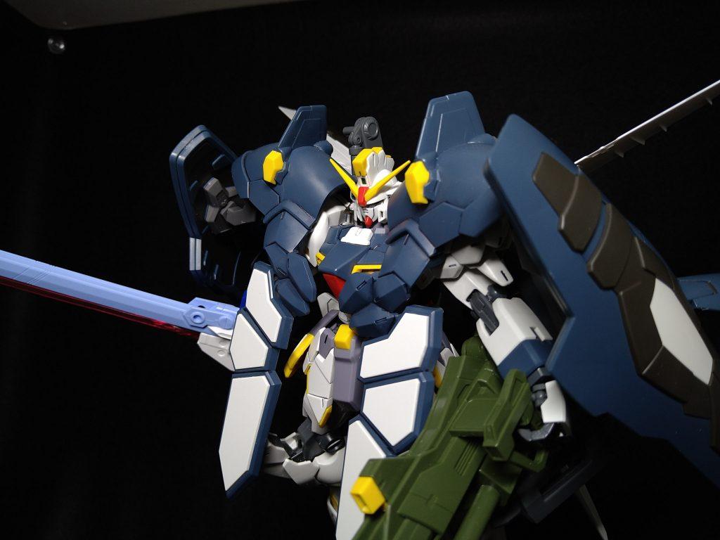 XXXG-01SR Gundam Sandrock Striker Armadillo