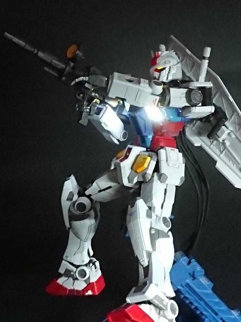 HG 1/144 RX-78 F00 ガンダム  電飾仕様