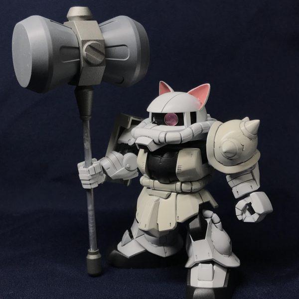 SDCS白猫ザク
