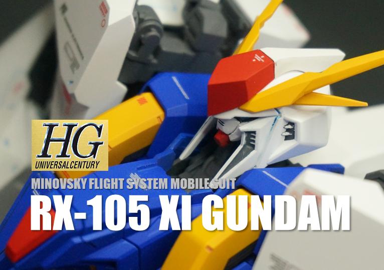 HG RX-105 クスィーガンダム
